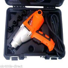 """Pistola de impacto 5pc juego de llave de trinquete de 1/2"""" Unidad Torque 1010W 17,19,21,22mm 450nm"""
