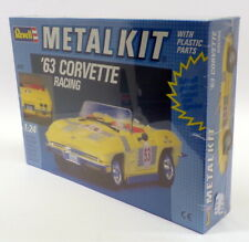 Revell 1/24 Scale 8711 Unbuilt Metal Kit - 1963 Chevrolet Corvette Racing
