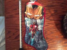 MARVEL  Avengers IRON MAN   Christmas Holiday Stocking