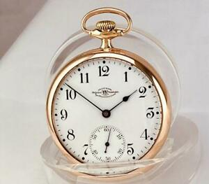1905 BALL - WALTHAM 17 Jewels RR GRADE in ORIGINAL 10K GOLD FILLED CASE 16s RUNS
