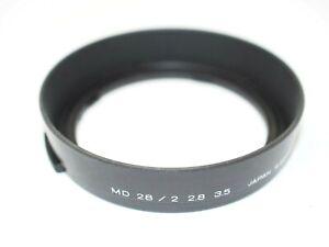 Minolta Lens Hood for 28mm f2, 28mm f2.8 + 28mm f3.5 MD Lenses