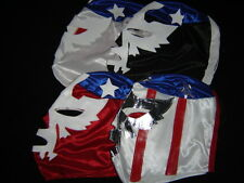 LOT 4 YOUNG PATRIOT WRESTLING MEXICAN MASKS LUCHA LIBRE youth joven mexico