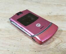 Motorola Razr V3 - Pink Cellular Phone - As Is - parts/Repair