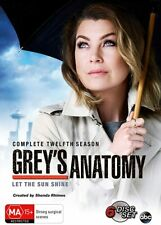 Grey's Anatomy - Season 12 - BRAND NEW - DVD