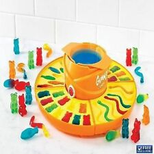 Electric Gummy Candy Maker Pots Machine Silicone Molds Melting Gelatin Mixture