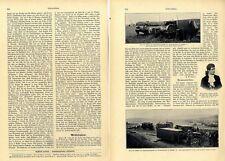Das Eisenbahnunglück in Rothenkirchen Sachsen Bilder + Text von 1903
