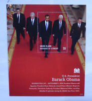 2013 St VINCENT & GRENADINES BARACK OBAMA UNION Is STAMP MINI SHEET #2