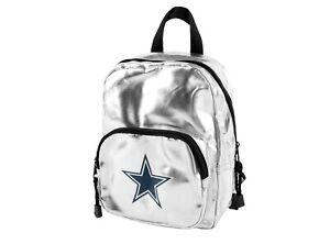 NWT NFL Dallas Cowboys Spotlight Women's Backpack Sliver
