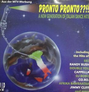 LP Pronto Pronto ??!! A New Generation Of Italian Dance Hits ZYX 7070-12