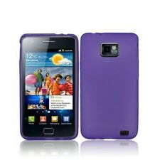 Cover Back Cover Case Frame Case for Phone Samsung I9100 Galaxy S2 Purple