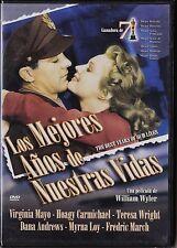 LOS MEJORES AÑOS DE NUESTRAS VIDAS de William Wyler.