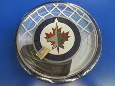 "Winnipeg Jets NHL Pro Hockey Sports Banquet Party 9"" Paper Dinner Plates"