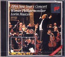 Neujahrskonzert aus Wien 1994 Lorin MAAZEL CD New Year's Concert from Vienna NEU