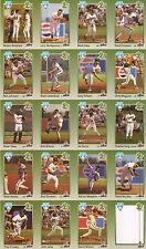Australian Baseball League Uncut Sheets (1) 1989.90 and all (8) 1990-91 Teams