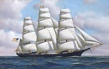 """Canvas Art Print Sailboat Oil painting Picture Printed on canvas 16""""X24""""P150"""