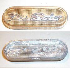 "- Used 1946 1947 1948 1949 DeSoto Dash Plastic Emblem - Unsure of Year - 2 3/8"""