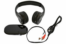 Wireless Headset Headphone PC TV DVD Smartphones 35 meters Transmission FM Radio