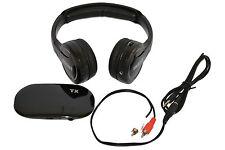 Wireless Headset Headphone PC TV DVD Smartphones 35 meters Transmission FM Radio