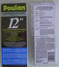 "Poulan 12"" 91SGP Chainsaw Cutting Chain: Sears Skil ETC"