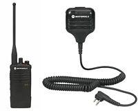 Motorola RDU4100 UHF Two-way radio with HKLN4606 Remote Mic. Buy 6 Get One Free