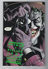 Batman: Killing Joke (1988, DC) Joker, Alan Moore, Bolland, 1st Print, F/F+