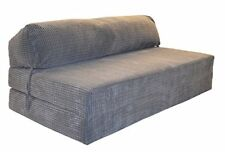 Gilda Jazz Sofabed - Da Vinci Cord Deluxe Double Sofa Z Bed Chair Charcoal