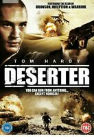 Deserter DVD, Tom Hardy, Paul Fox, Brand New, Sealed & Fast.