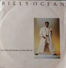 Vinyl-Single Billy Ocean - Get Outta My Dreams, Get Into My Car/Showdown  (1988)