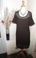 NEXT Round Neck Cotton Blend Short Sleeve Dresses for Women