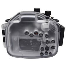 Mcoplus 40m/130ft Waterproof Underwater Housing Camera Case for Panasonic Lumix