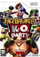 Nintendo Wii +Wii U FACEBREAKER K.O. PARTY * DEUTSCH *Neuwertig
