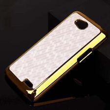 For LG Optimus L90 Dual D410 Luxury Chrome Design hard case Back Cover