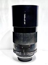 Objectif Télé-Macro TAMRON SP (Adaptall 2) 500mm f/8 MF Lens - NIKON F/PENTAX K