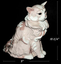 "Kay Finch Adorable Large 11"" Sitting Cat Figure"