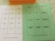 HANDS ON ENGLISH, LINKING BLOCKS, WORD FUNCTION CARDS
