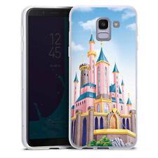 Samsung Galaxy J6 2018 Silikon Hülle Case - Disney Castle