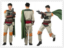 Star Wars Boba Fett Costume Cosplay Superhero Outfit Halloween Costume for Men:D
