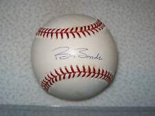 BARRY BONDS AUTOGRAPHED SIGNED SELIG MLB BASEBALL SAN FRANCISCO GIANTS STEINER