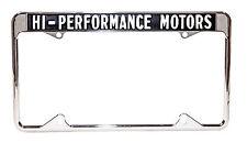 Hi - Performance Motors License Plate Frame Shelby Cobra Mustang GT-350 GT-500