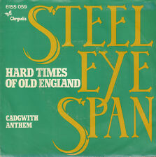 "STEELEYE SPAN ‎– Hard Times Of Old England (1976 VINYL SINGLE 7"" HOLLAND)"