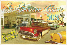 VINTAGE BUICK ART PRINT - Classic Cars 3 by Carlos Casamayor Auto Poster 38x26