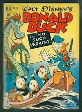 Walt Disney's Donald Duck Four Color #318-No Such Varmint-VG Carl Barks 1951