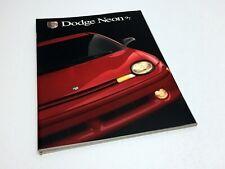 1997 Dodge Neon Brochure