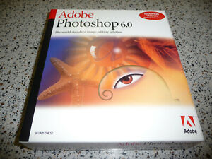 Adobe Photoshop 6.0 Full Version for Windows UNUSED