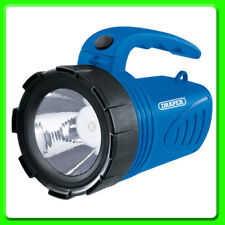 Draper Rechargeable Lightweight Spotlight Torch [65985] Blue