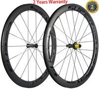 700C Bicycle Wheels 38/50/60/88mm Road Bike Wheelset Black Decal Ceramic Bearing