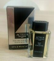 Miniature de parfum ACTEUR De Loris AZZARO  Eau DeToilette 5 ml NEUVE