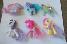 Lot of 6 My Little Pony Mini Ponies Hasbro Lanard McD