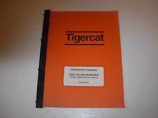 Tigercat 853B Feller Buncher Operator's Manual , s/n 8530101 - up