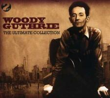 WOODY GUTHRIE THE ULTIMATE COLLECTION - 2 CD BOX SET, PASTURES OF PLENTY & MORE